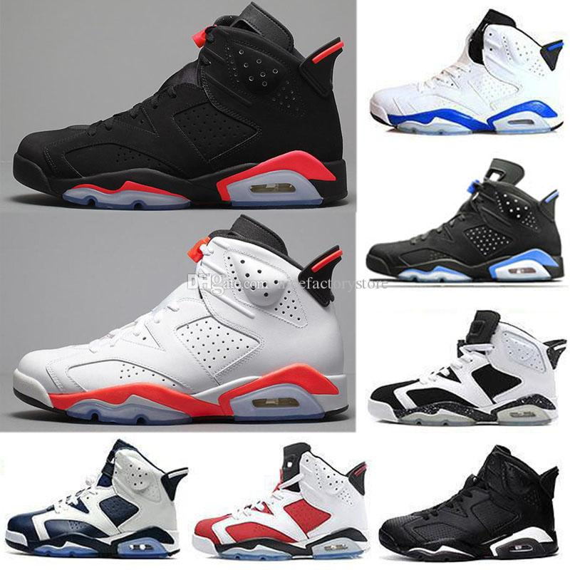 on sale a8116 11016 6 vi white black infrared bred tinker unc oreo sport blue 6s mens  basketball shoes toro maroon carmine olympic designer sneakers