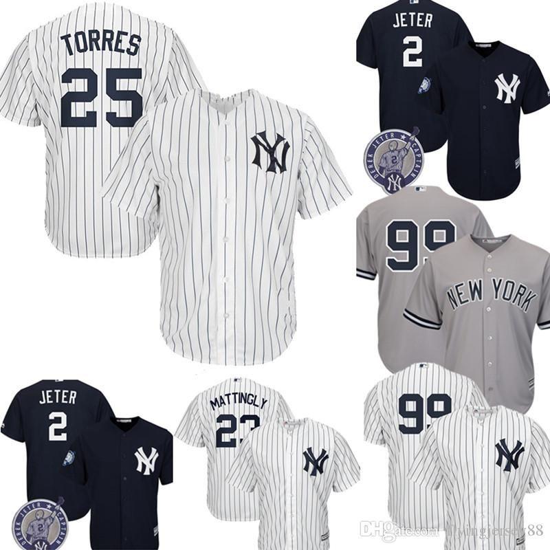 sports shoes 2a64e 6dbb2 New York # Yankees Gleyber Torres Jersey Men's Majestic Cool Base Player  Replica Jersey Embroidery Baseball Jerseys M-XXXL