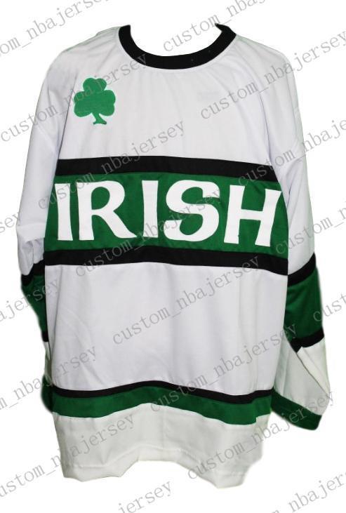 3c939aeed99 2019 Custom Team Irish Ireland Retro Hockey Jersey New White Personalized  Stitch Any Number Any Name Mens Hockey Jersey XS 5XL From Custom nbajersey