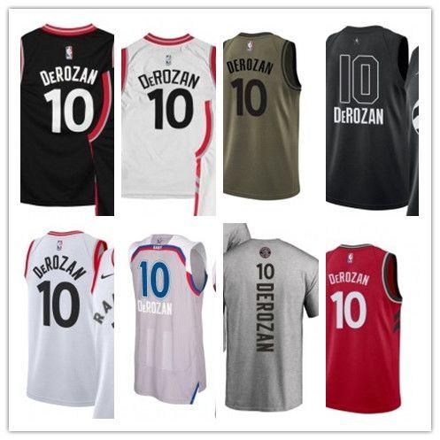 2019 2018 Basketball Wear Youth Women Men S Toronto Raptor 10 DeMar DeRozan  Swingman Green Jersey City Edition Basketball Jerseys From Toptop jersey08 ee77138dc9