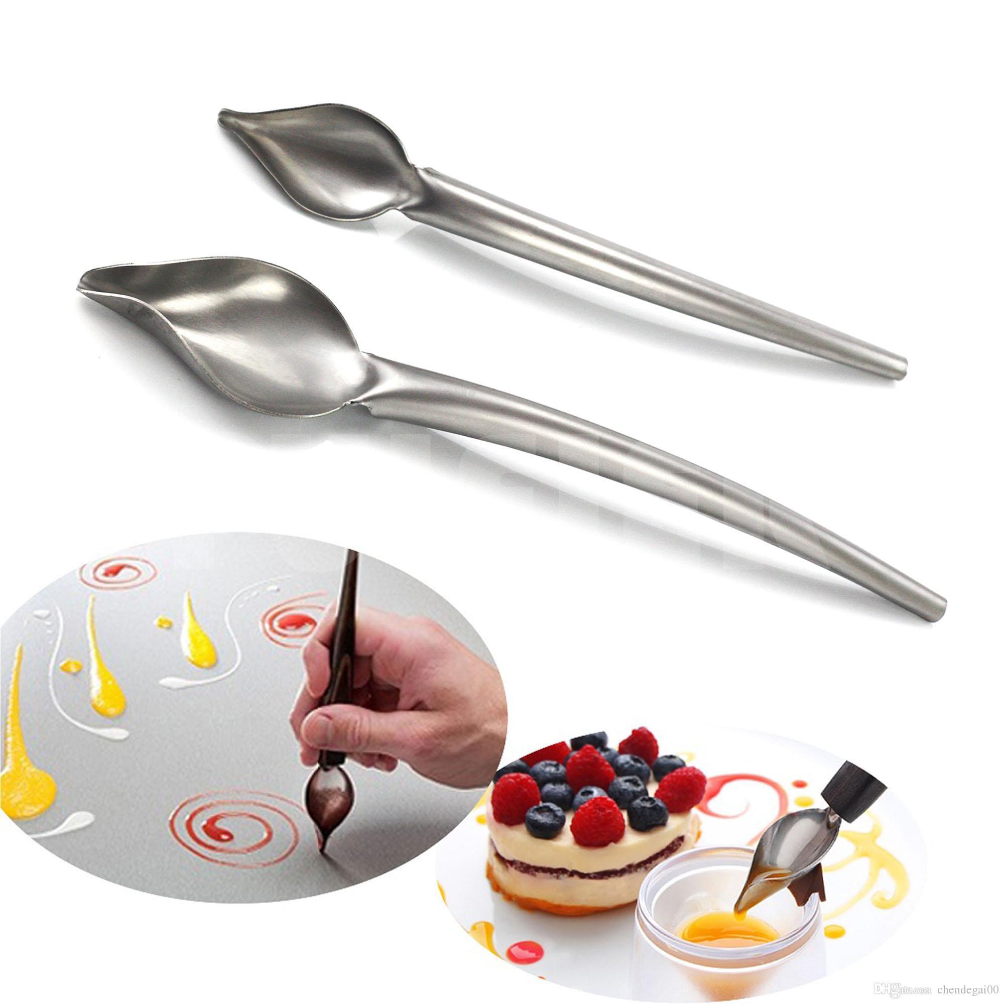 639475f80916 Acquista Utensili Da Cucina In Acciaio Inox Cucchiaio In Acciaio Inox,  Strumento Fare Caramelle Gelato Attrezzi Da Cucina, Strumenti Di  Decorazione Torta ...
