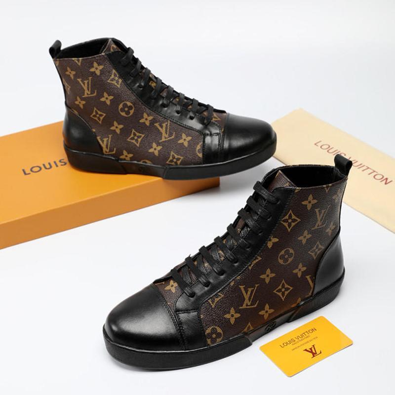 be5cdf9fb891f Acheter Nouveau 2019 Chaussures Bottes Hautes Bas Pour Hommes ...