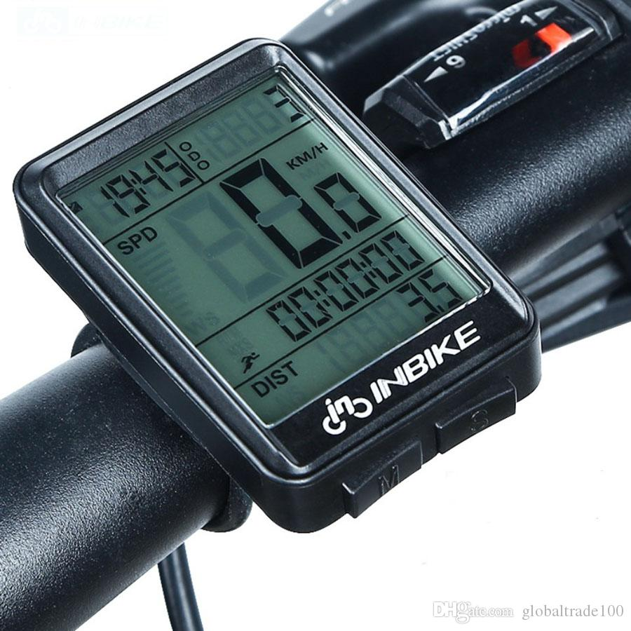 2.1inch Bike Wireless Bicycle Computer Rainproof Multifunction Riding Bicycle MTB Odometer Cycling Speedometer Stopwatch Backlight