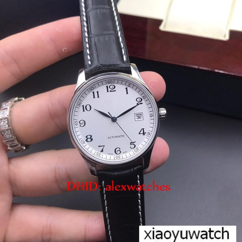 Luxury brand watches men's watches 316L Steel Case Cowhide Strap 2813 Mechanical Automatic Sapphire Glass 40mm Casual Fashion Man Wrist Watc