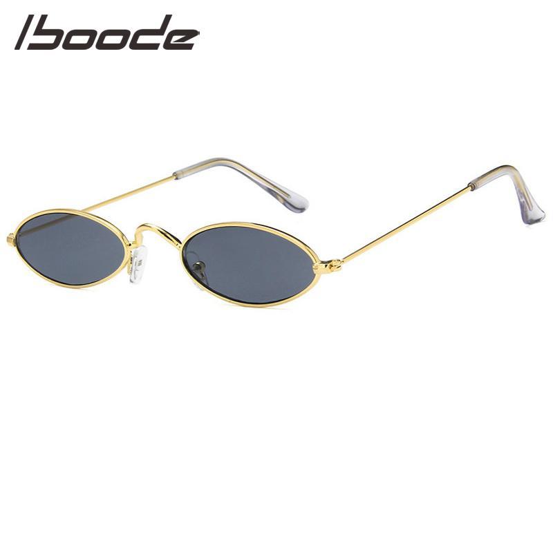 13d5d28e94 Iboode 2019 New Brand Designer Lady Vintage Oval Sunglasses Women Men Retro  Clear Lens Eyewear Sun Glasses For Female UV400 Polarized Sunglasses  Sunglasses ...