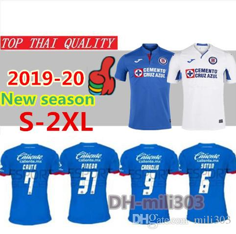 5b5f86564e0 2019 Thailand Quality 2019 2020 Mexico Club Cruz Azul Soccer Jerseys 19 20  CARAGLIO MONTOYA MENDEZ Football Shirts Camisetas De Futbol S 2XL From  Mili303