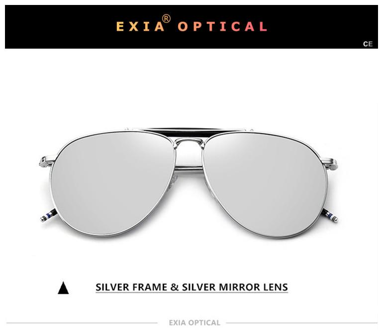 2f38f44ceba Polarized Sunglass Silver Mirror Optical Lenses Myopia Flash Mirrored Customized  RX Power KD 49 Series Sunglasses Brands Best Sunglasses From Ximamout
