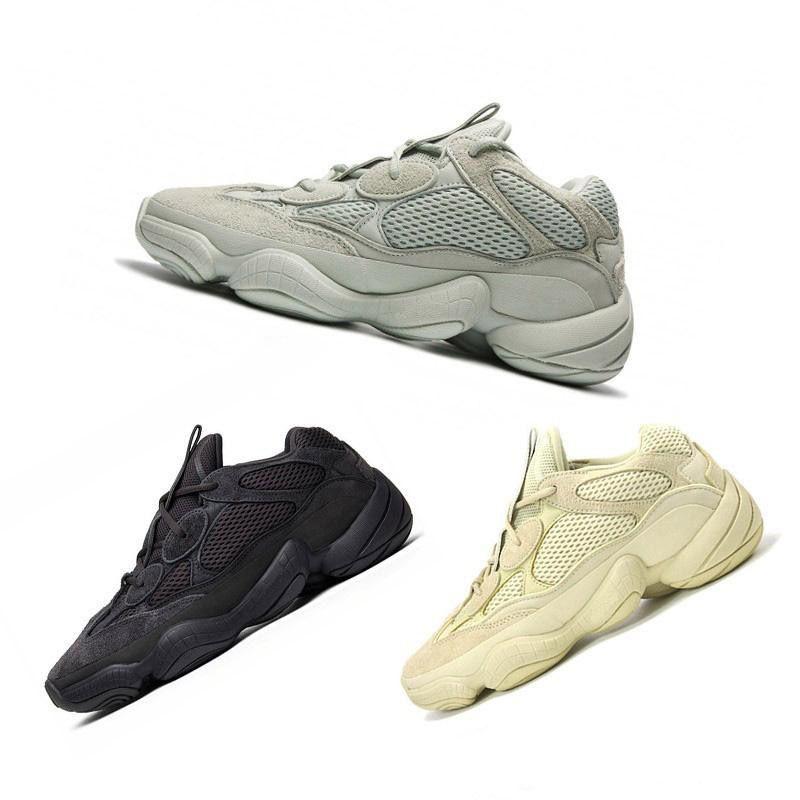 31e6681d3f1e3 2019 2019 New Salt Wave Runner 500 Blush Desert Rat 500 Super Moon Yellow  Running Shoes Kanye West Mens Women Sneaker Sports Shoes From Kanyezi350
