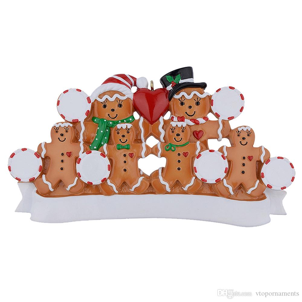 Wholesale Maxora Gingerbread Family Of 6 Personalized ...