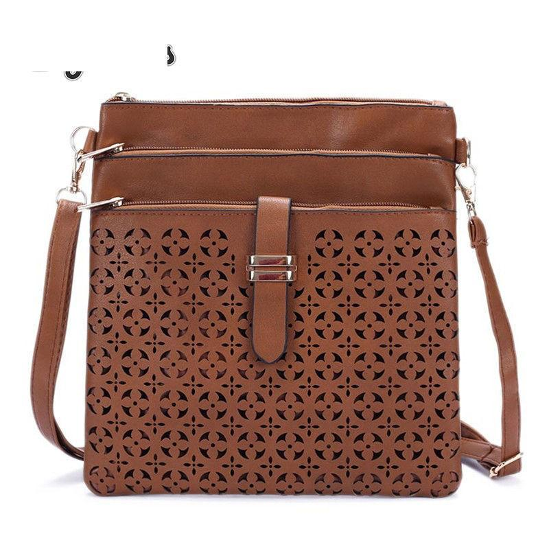 8e74df0f11 2019 Fashion Small Bag Women Messenger Bags Soft Pu Leather Hollow Out Crossbody  Bag For Women Clutches Bolsas Femininas Bolsa Hobo Purses Leather Bags For  ...