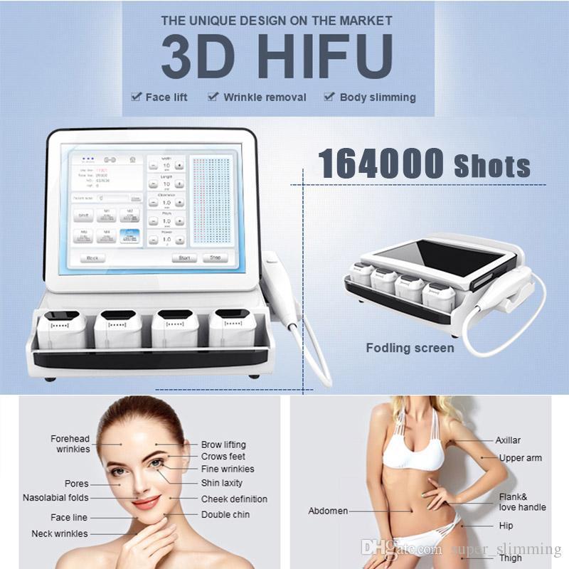 3D HIFU сфокусированный ультразвуковой аппарат HIFU машина цена оптовая 2D / 3D HIFU сфокусированный ультразвук профессиональный подтяжка лица