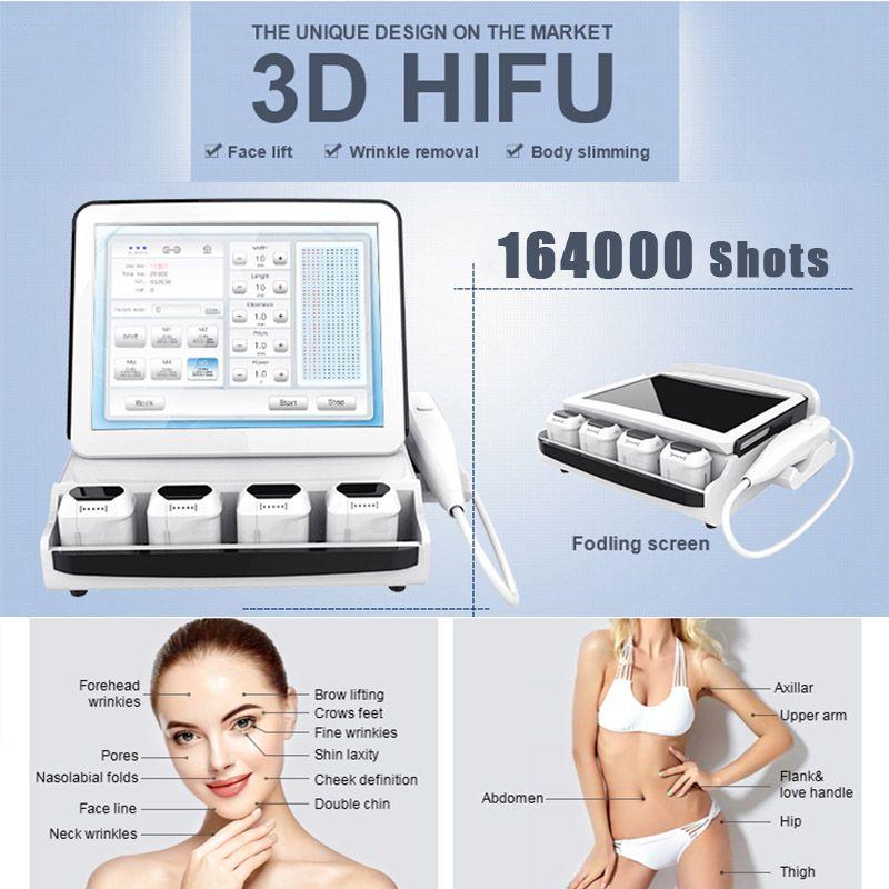 HIFU machine hifu wrinkle removal weight loose High Intensity Focused Ultrasound portable hifu facial lift Machine 2D