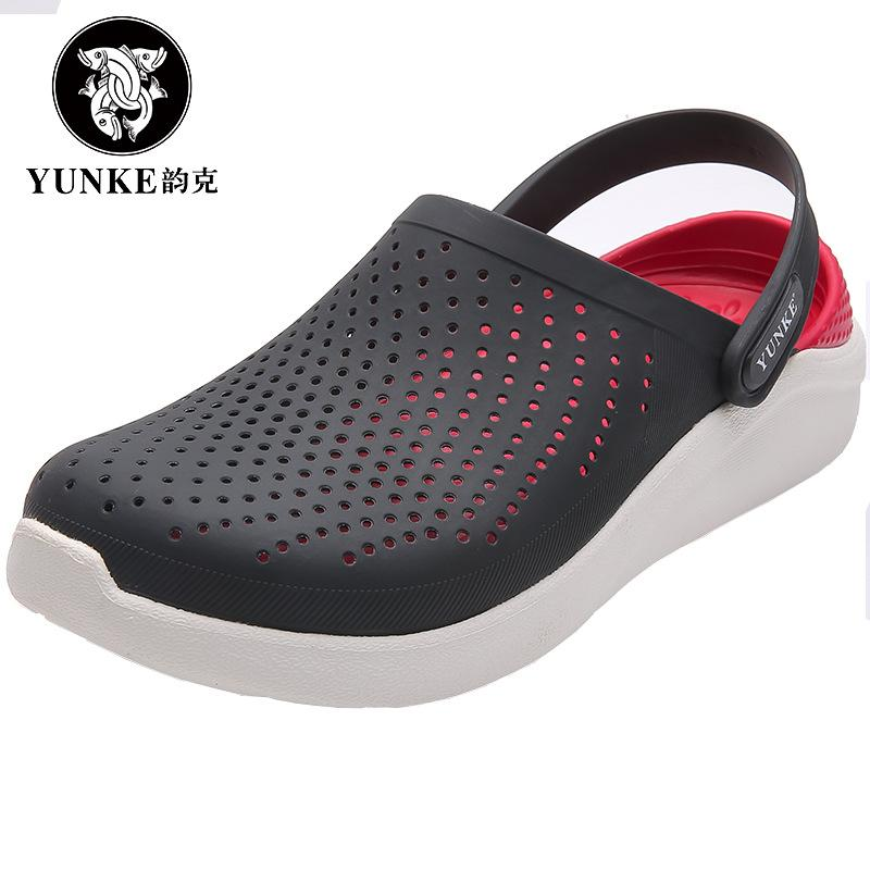 2019 Summer Mens Clogs Beach Slippers For Men Garden Shoes Mule Clogs Fashion Candy Color Adult Women Clog EVA Materials