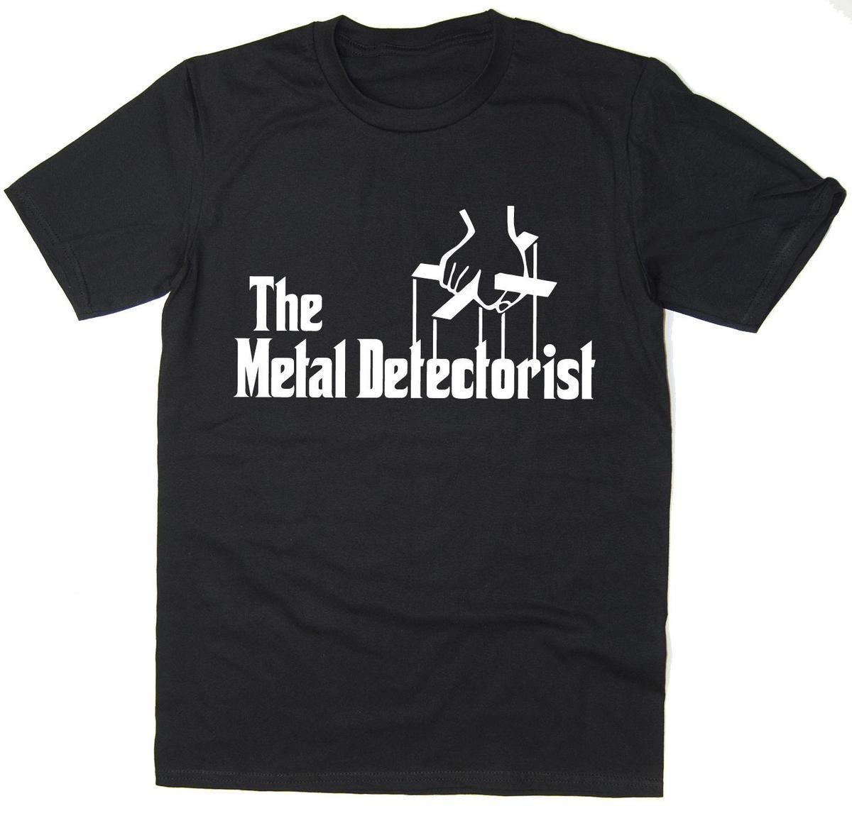 The Metal Detectorist - Funny Detecting T-Shirt - Godfather Spoof - T-Shirt Taglie forti manica corta