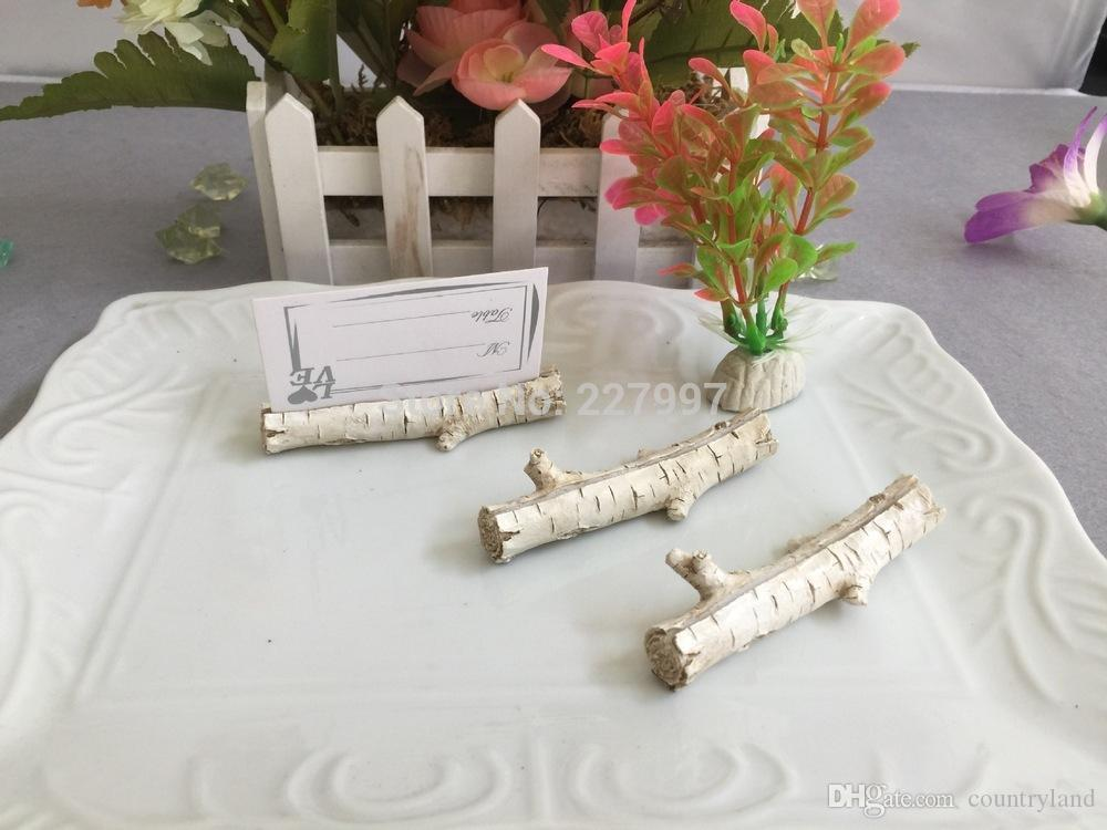 200pcs/LOT Wedding Decoration Place Card Holder Tree Branches Miniature Table Name Card Holder Party Supplies 20180920#