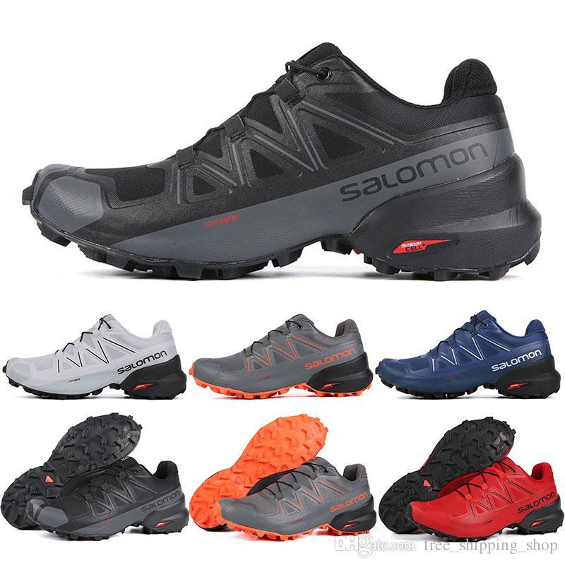 quality design 00cc6 23962 2019 Salomon Speedcross 5 CS uomo donna Scarpe da corsa di alta qualità  mens scarpe da ginnastica impermeabile atletica scarpe da ginnastica scarpe  da ...