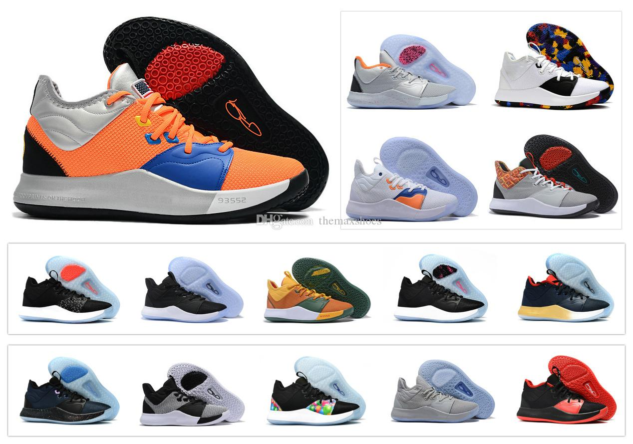 52ebb46d2503 Hot Paul George PG 3 3S PG3 TS GS ID EP PALMDALE III Basketball Shoes Cheap  PG3 Starry Blue Orange Red Black Sports Sneakers Size 40 46 Mens Shoes  Sneakers ...