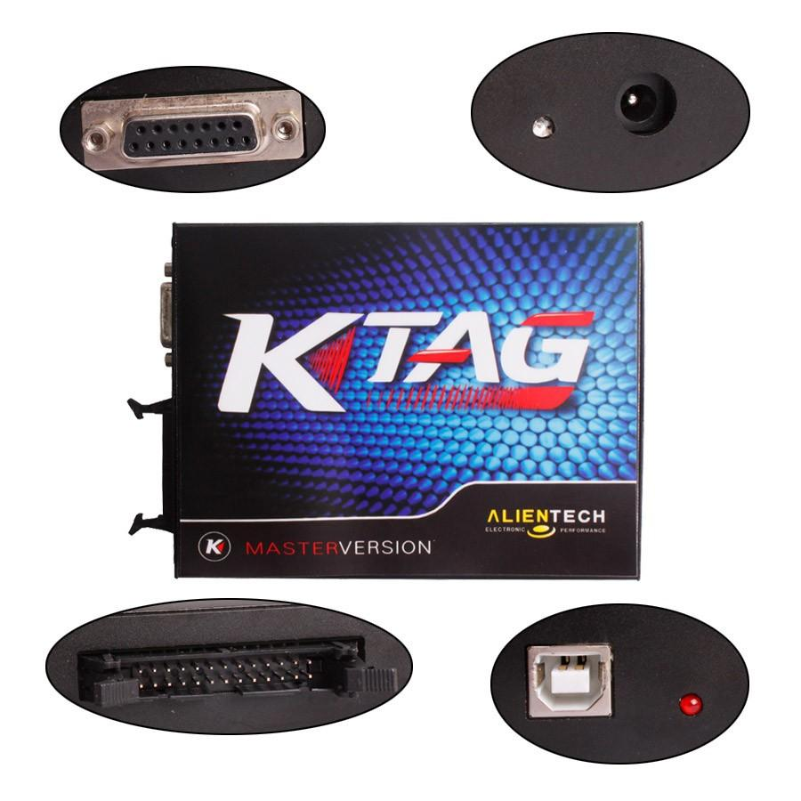 2016 Best Quality K TAG ECU Programmer Tool Ktag No Tokens Limitation k-tag  ECU Chip Tuning Tool Free Shipping