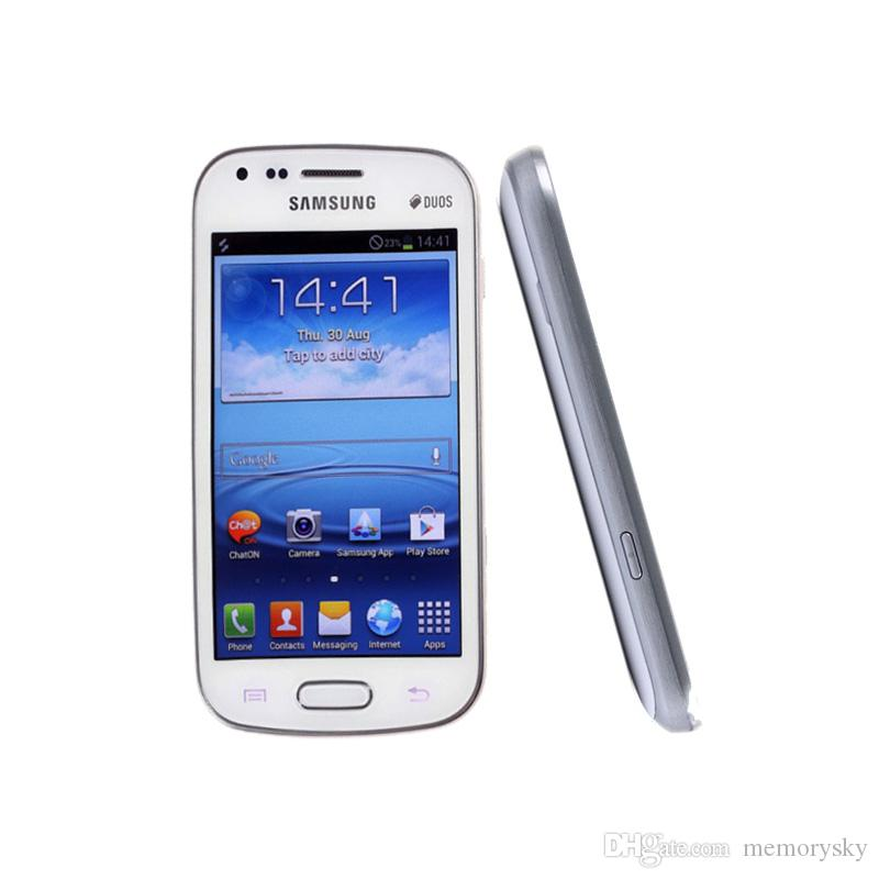 Samsung GALAXY Trend Duos II S7562I 3G Smart Phone 4.0Inch Android4.1 WIFI GPS Dual Core Unlocked 3MP GSM,WCDM