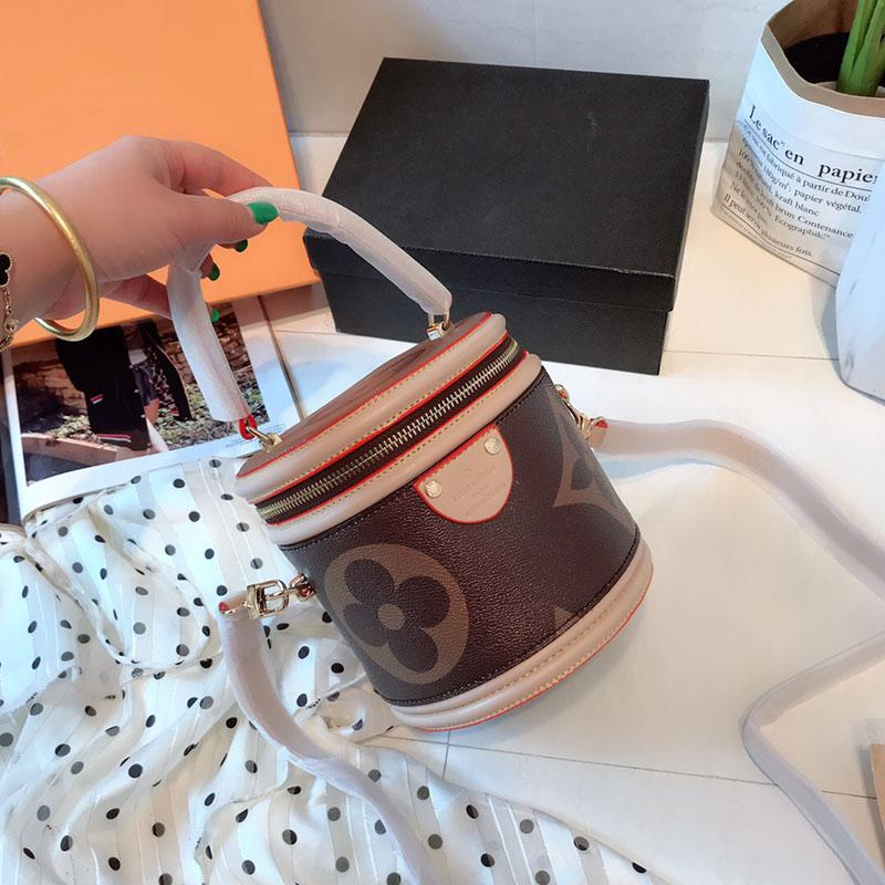 2019 cowhide luxury famous designer cannes make-up case Handbags bag girl  backpacks handbag Sac à main bags purse women cross-body 052410