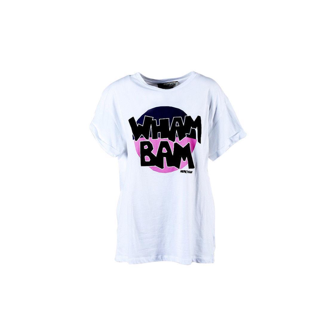 b9d1edd59e Etre Cecile NWT White Multicolor Cotton Wham Bam T Shirt SZ M Custom t  shirt logo text photo Mens Womens T-shirt men tshirt rock