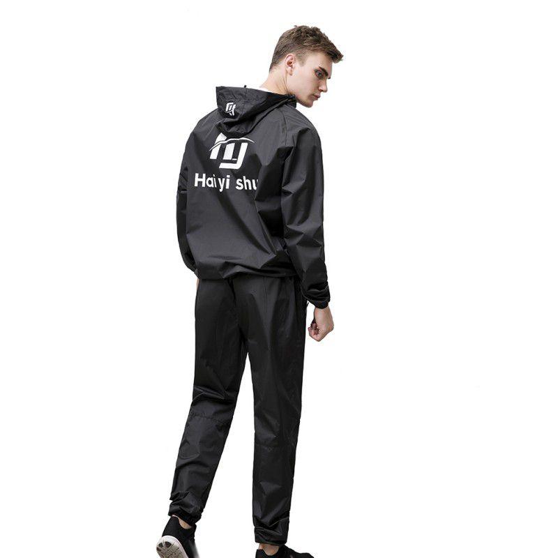 Acquista 2019 Maschile Esecuzione Di Abiti Sportivi Uomo Fitness Set  Abbigliamento Da Allenamento Perdi Peso Quick Sweating Sportswear Jogging  Suits A ... ed12f7034c3
