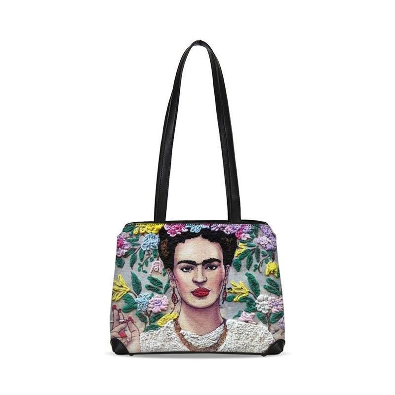 Exclusive Frida Kahlo Print Tote Bag Women Handbag Shoulder Bags