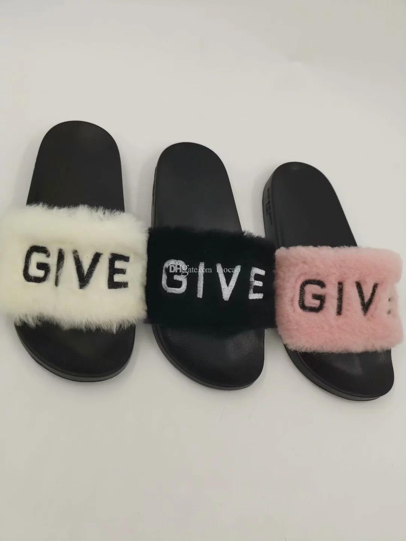 1dab90e1d844 Hot Sale Leadcat Fenty Faux Fur Slide Sandal Women Grey Black Red ...