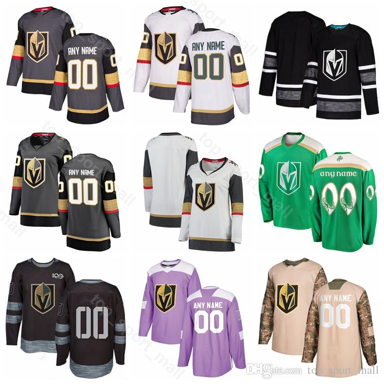 hot sale online 98a85 3de3d Men Kids Women 89 Alex Tuch Jersey Vegas Golden Knights Ice Hockey Reilly  Smith Cody Eakin Shea Theodore Ryan Reaves Camo Veterans Day