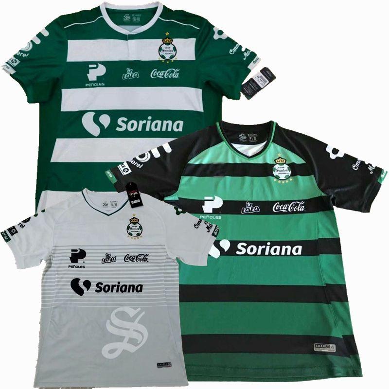 online retailer 61259 601f4 2018 2019 Liga Mx Club Santos Laguna Soccer Jersey 18 19 home away 3rd Thai  football shirts S-2XL