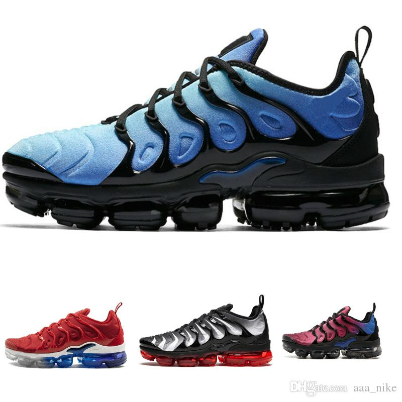 separation shoes 2163f 159a8 Nike air max vapormax nike TN off white NMD vans boost Metálica Homens Mens  Running Designer Sapatos de Luxo Tênis Sapatilhas Da Marca Formadores ...