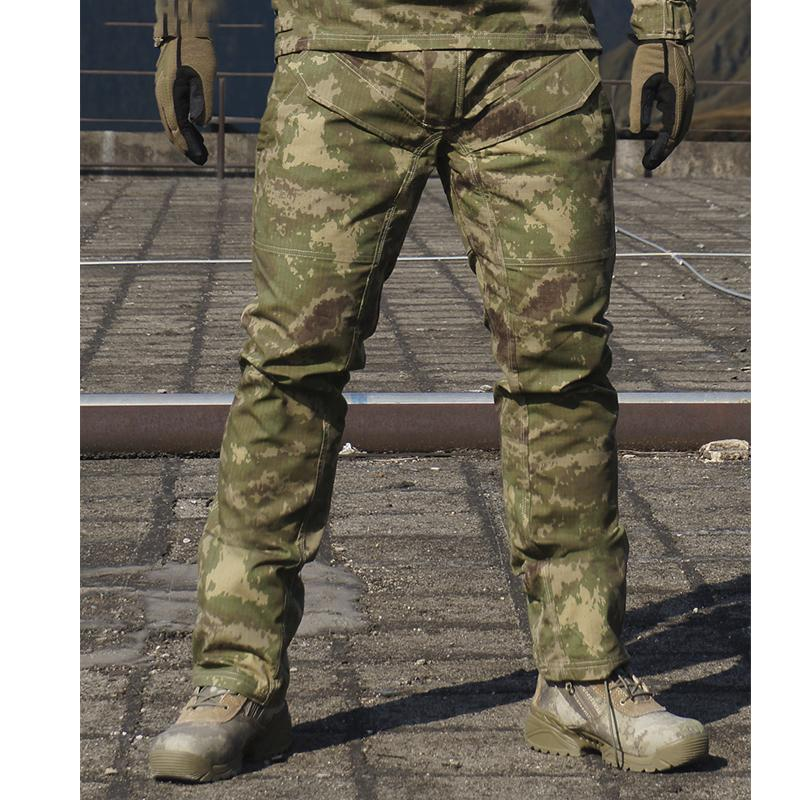 5f1971846c0f Spring Autumn Men Bionic Camouflage Tactical Military Pants Male ...
