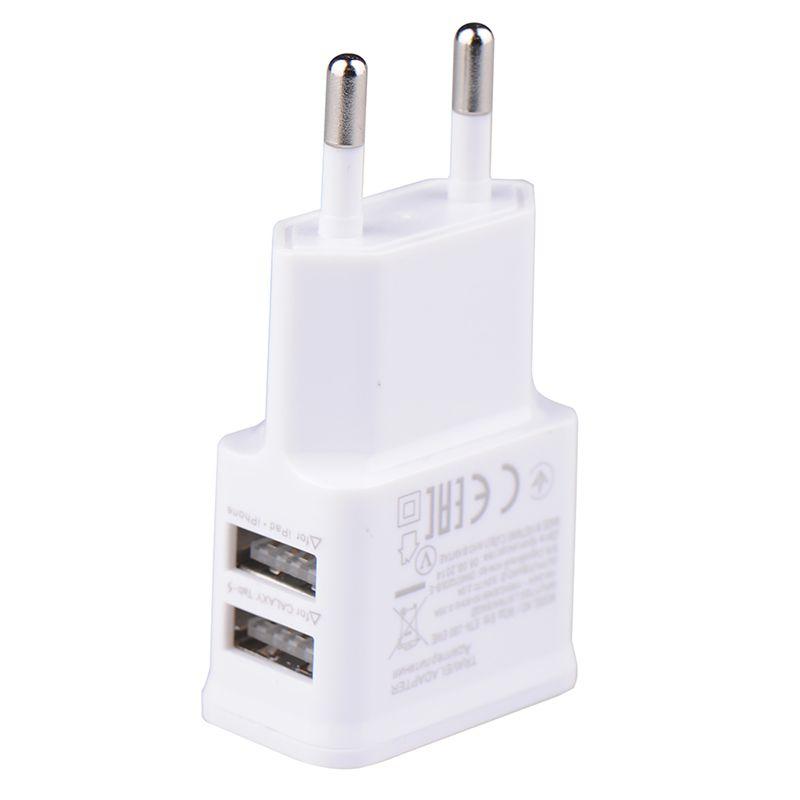 5v 2 0a plug dual double usb universal mobile phone charger wall ac rh dhgate com