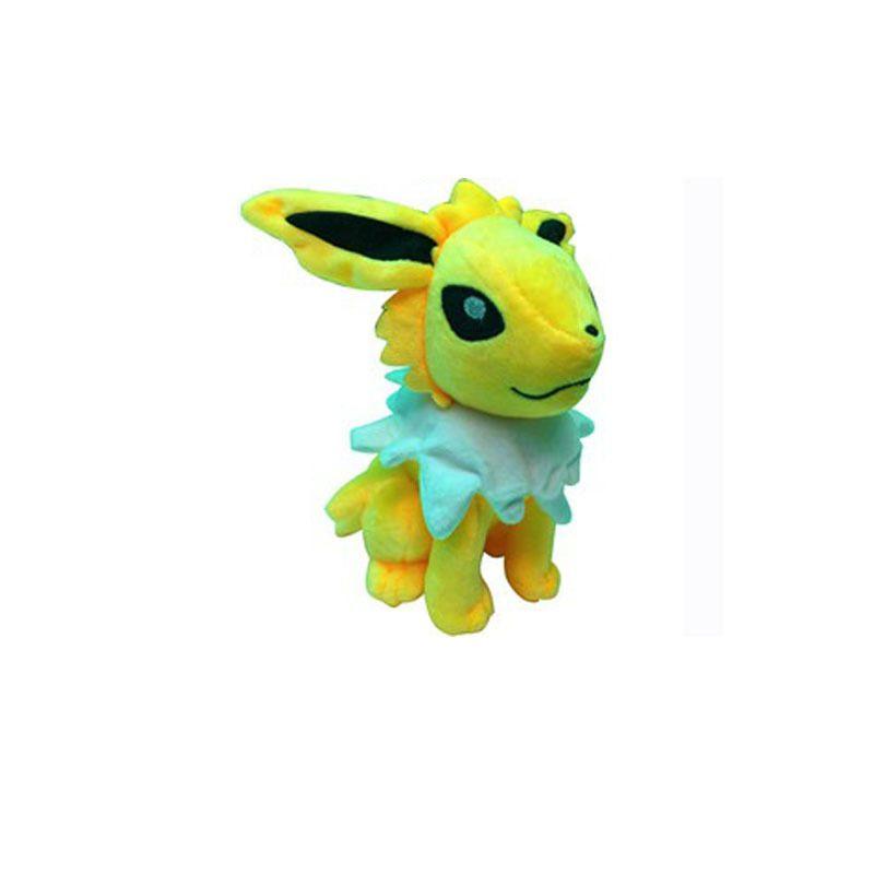 20pcs 22cm Center Plush toys Pikachu dolls Jolteon Umbreon Flareon Eevee Espeon Vaporeon Kids Children Toy gifts 9 styles in stock