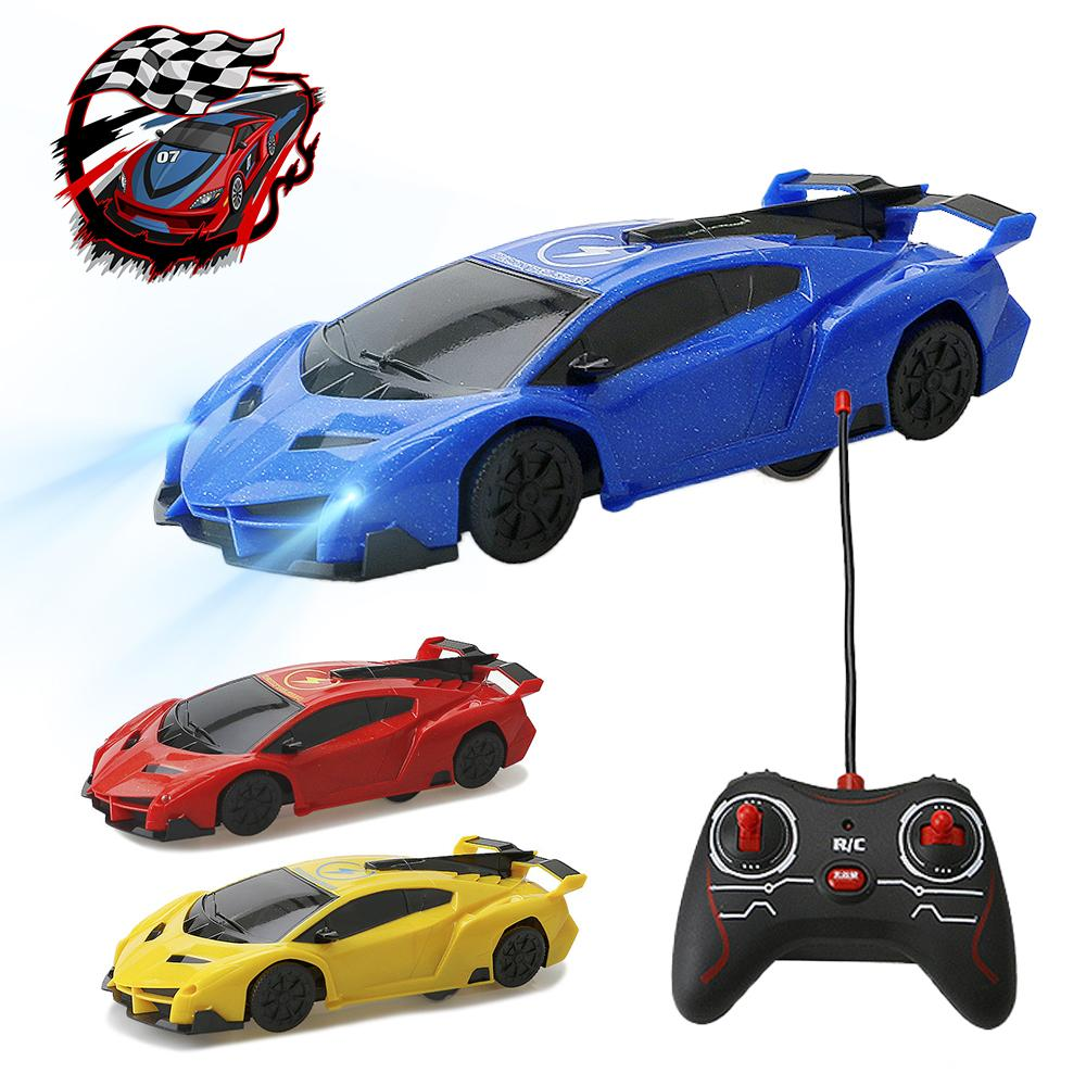 Remote Control Cars >> 4ch Remote Control Rc Car Wall Climbing Car Sport Anti Gravity Racing Rechargeable 360 Degree Rotating Wall Stunt Toys