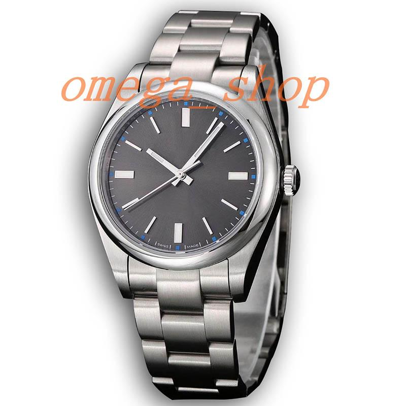 Hombres Mecánico Alta Para Aaa Reloj Permanente Automático Diseño Steel Dateless De Dome 114300 Zafiro Dial Calidad Lujo Gris N8mOvn0w