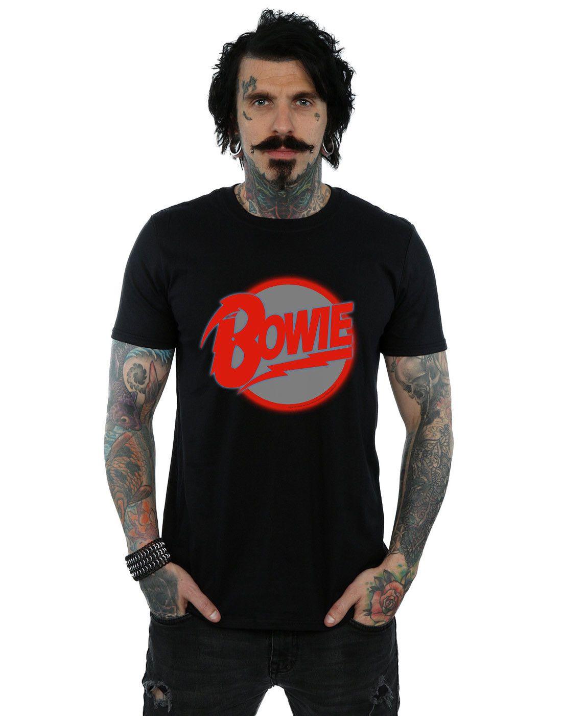 David Bowie Memorial Tee Fullprint Tshirt Men/'s New T-SHIRT