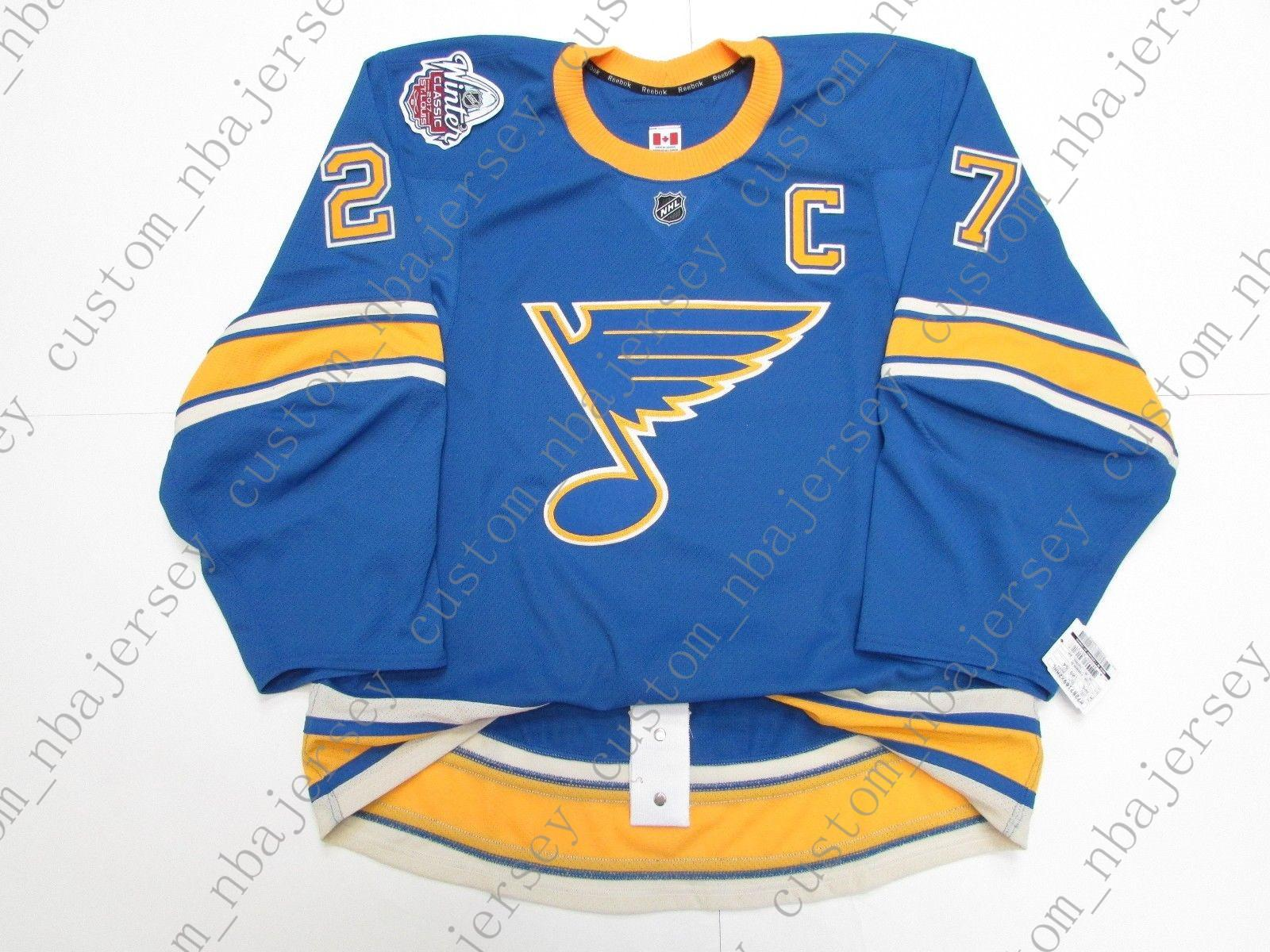 huge discount 9e917 c1acc Cheap custom ALEX PIETRANGELO ST. LOUIS BLUES 2017 WINTER CLASSIC JERSEY  stitch add any number any name Mens Hockey Jersey XS-5XL
