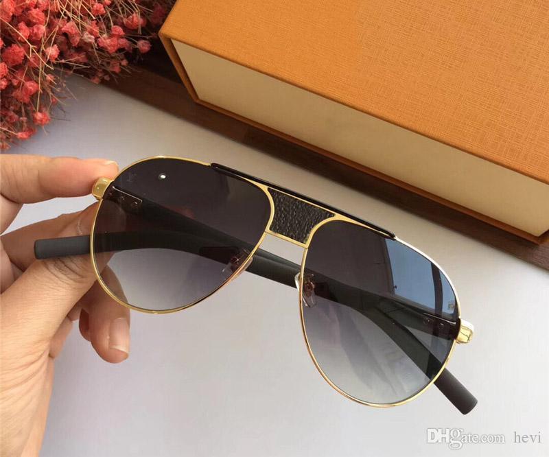 c1d1e15ec6d6f Hot Sell Luxury Brand Designer For Men Sunglasses Z2338 Retro Pilot ...