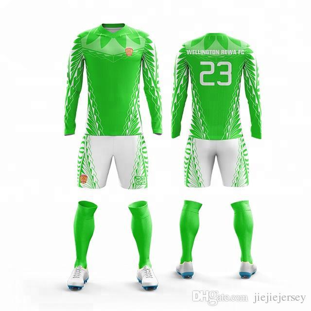 fa7f28c90a8 2019 New Kids Adult Soccer Jerseys Sets Tracksuits Football Kits Men ...