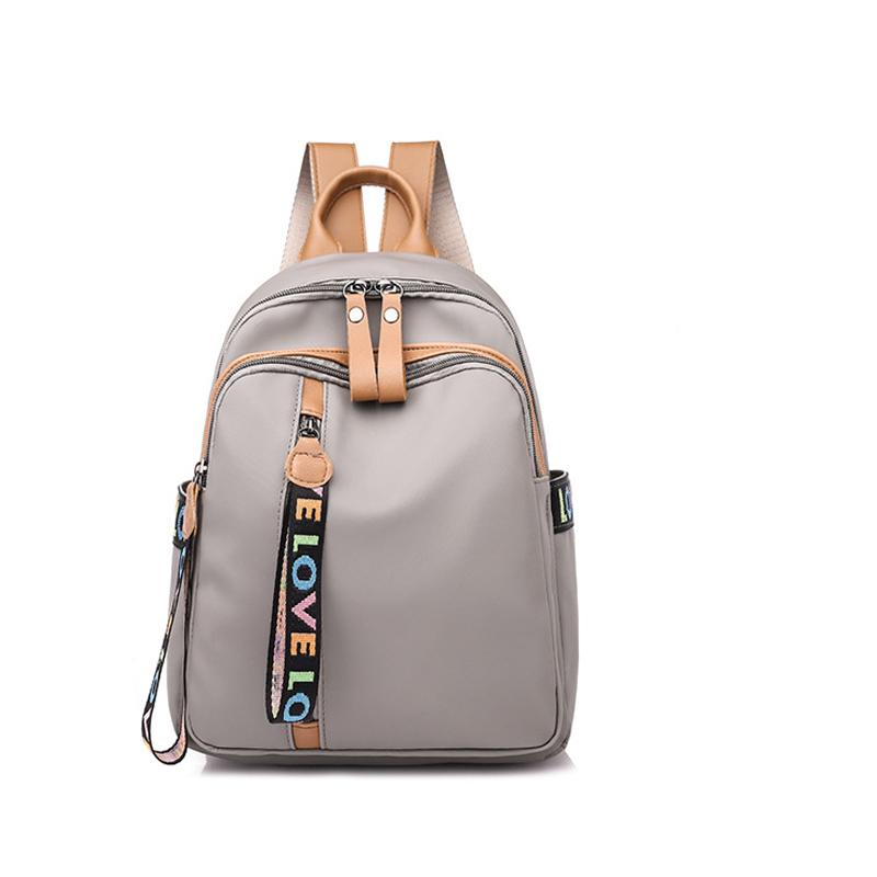 2018 New Shoulder Bag Female College Style Fashion Trend Ladies Wild Leisure  Travel Bag Female Backpacks For Girls Waterproof Backpack From Romantravel,  ... 84ac4ad744