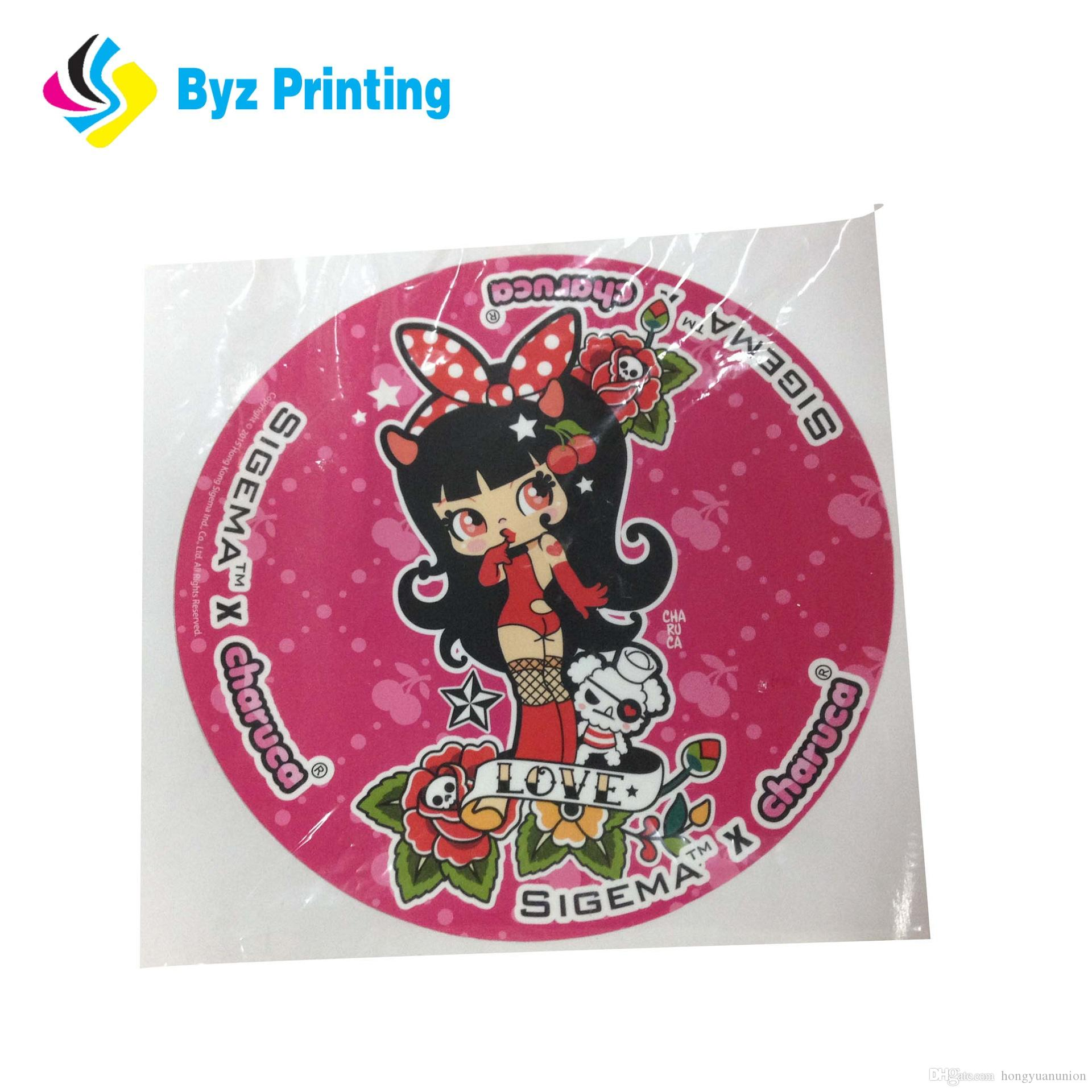 2019 die cutting high quality printing custom self adhesive black circle stickers label waterproof round vinyl sticker from hongyuanunion 0 04 dhgate