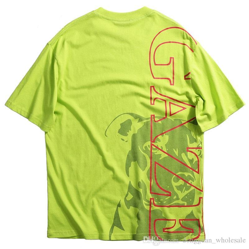 Compre Hombres Hip Hop Camiseta Mirando Perro Streetwear Camisetas 2019  Primavera Verano Camiseta De Manga Corta Algodón Hipster Negro Tops Tees  Impreso A ... 79ccaba9524