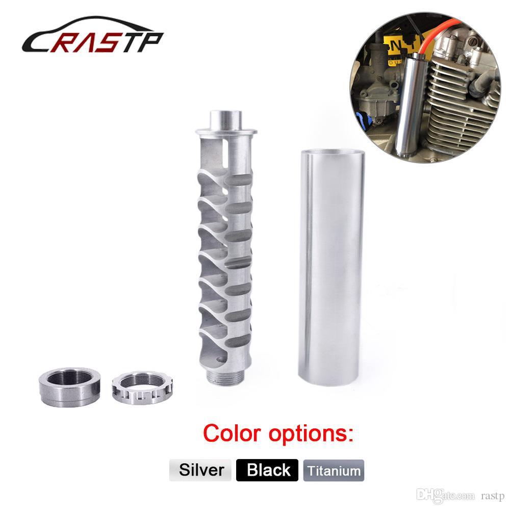 RASTP -New Spiral1/2-28 5/8-24 Car Fuel Filter Single Core Alloy For NaPa  4003 WIX 24003 Original RS-OFI022