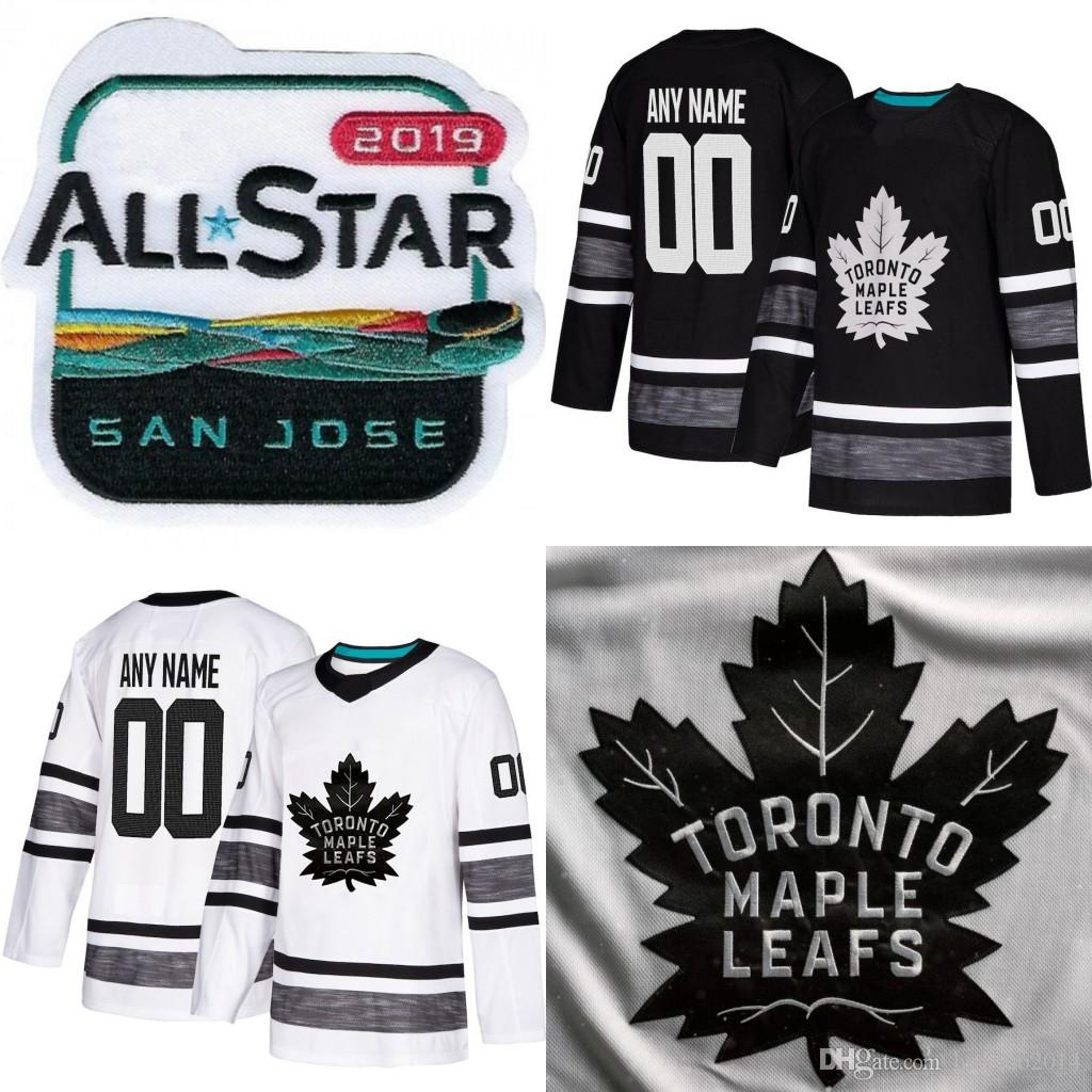 38b1e080d 2019 2019 All Star Toronto Maple Leafs John Tavares Mitchell Marner Auston  Matthews William Nylander Brown Andersen Rielly Hockey Jerseys From  Huohuo2014