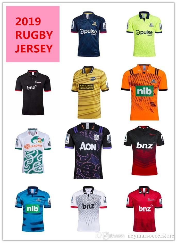 74b5ed2e433 2019 2019 Highlanders Crusaders Blues Super Rugby Jerseys Chiefs ...