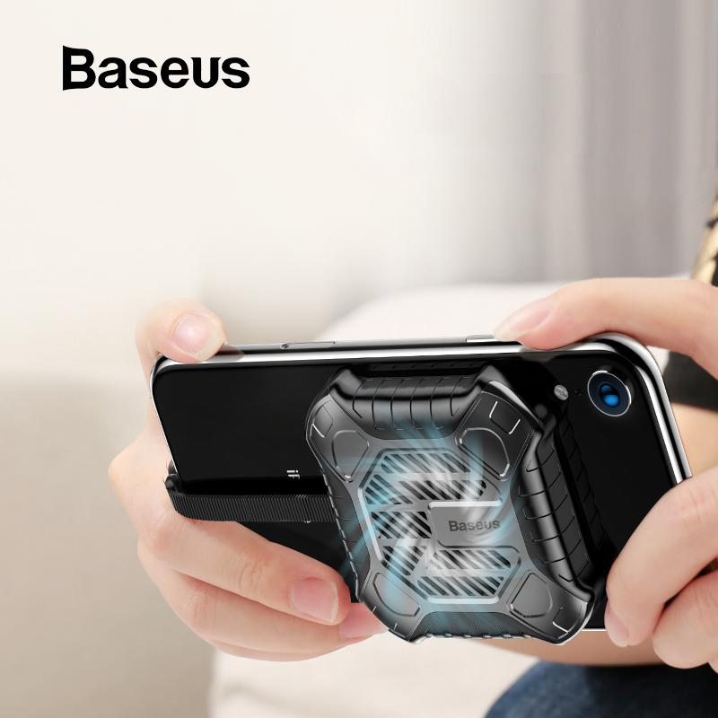 Baseus Newest Creative Mini Mobile Phone Cooler For Iphone X Xs Xs Max Xr 7 8 Plus Game Cases With Audio Charging Cable Adapter J190702