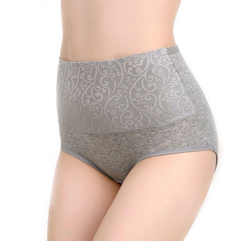 d2b65fc215 2019 Plus Size Panties Women Underwear High Waist Cotton Briefs String  Calcinhas Sexy Lingeries 5XL Panty Shorts Underpants Ladies From Qutecloth