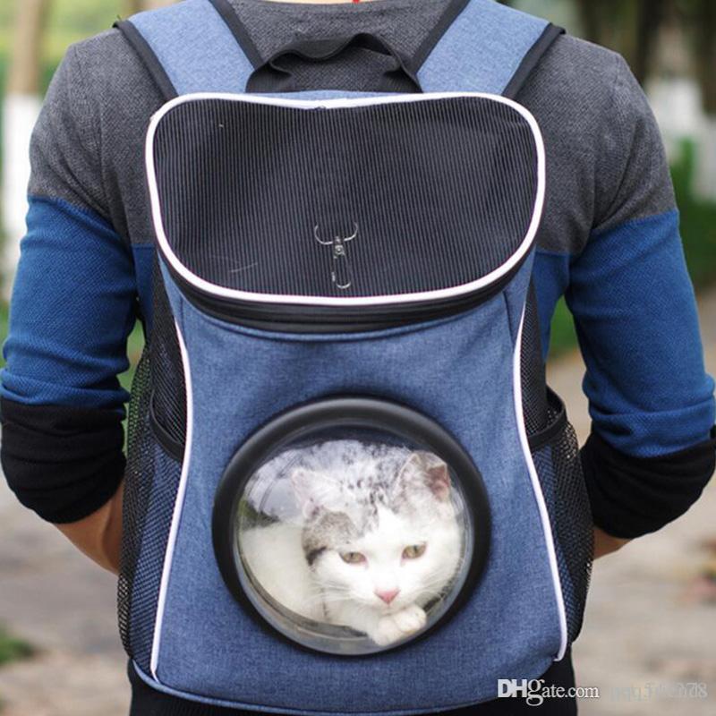 1e0323aa0845e Satın Al Konfor Köpek Taşıyıcı Çanta Seyahat Pet Kedi Taşıyıcı Nefes Örgü Sırt  Çantası Taşınabilir Çift Omuz Açık Çanta, $33.16 | DHgate.Com'da