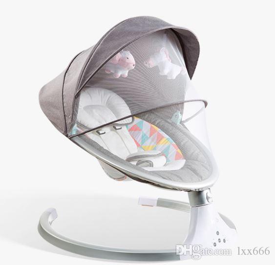 Compre Silla Mecedora Electrica Para Bebes Silla Cuna Silla